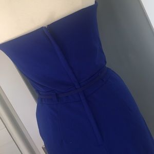Have Other - Royal blue strapless jumpsuit
